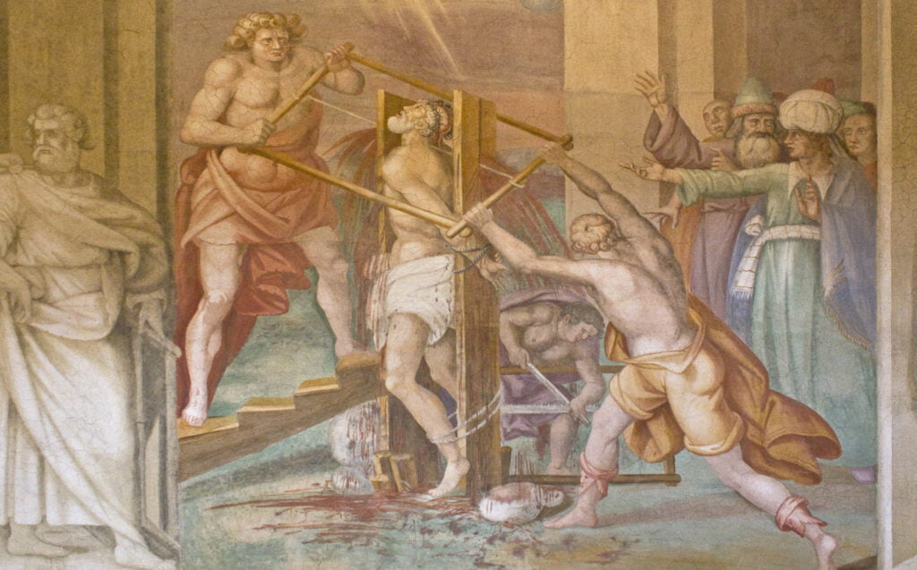 Martyrdom of St Simon the Zealot