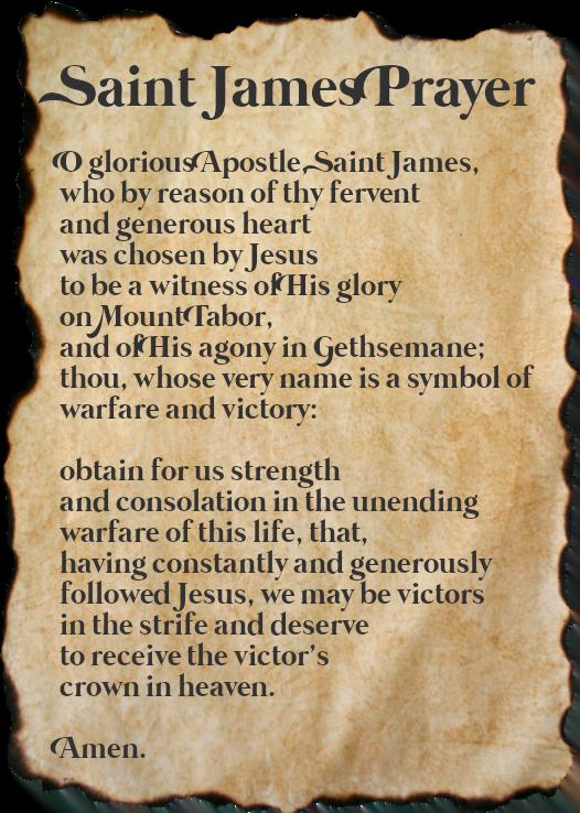 Saint James the Less Prayer