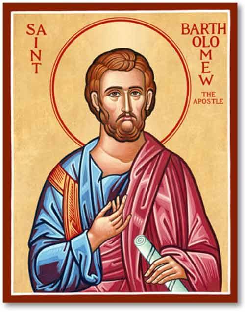 Characteristics of Apostle Bartholomew